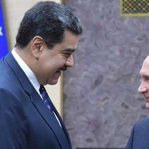 Putin manifesta apoio a Maduro em Moscou