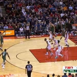 VIRAL: NBA: Brogdon marca de 3 e sela a vitória do Bucks