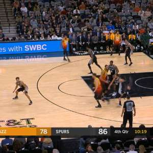 NBA: San Antonio Spurs 110 x 97 Utah Jazz
