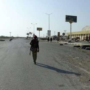 Violentos combates e bombardeios na cidade iemenita de ...