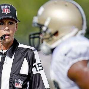 NFL terá arbitragem feminina nos playoffs pela primeira vez
