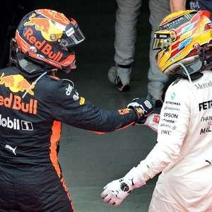 """Hamilton e Verstappen formariam o """"time dos sonhos"""" na ..."""
