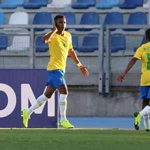 Com dois de Rodrygo, Brasil vence a primeira no Sul- ...