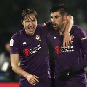 Roma dá vexame, leva 7 a 1 da Fiorentina e está eliminada