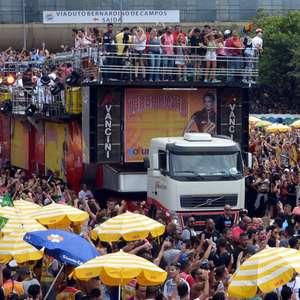 São Paulo só recebeu 15% das multas por xixi no Carnaval