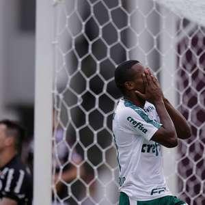 Palmeiras perde chances e empata em Araraquara