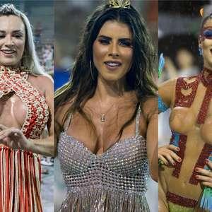 Samba, suor e chuva: veja como foram os ensaios no RJ e SP