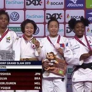 Rafaela Silva fatura prata no 1º dia do Grand Slam de ...
