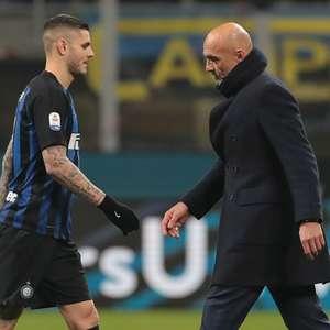 """Técnico da Inter se cala sobre Icardi: """"Só falo sobre ..."""