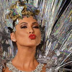 Lívia Andrade usa nova fantasia para o Desfile das Campeãs