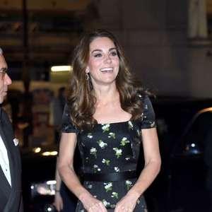 Kate Middleton customiza vestido McQueen usado em 2017