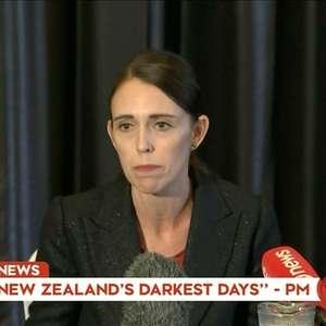 """""""Um dos dias mais sombrios"""", diz premiê da Nova Zelândia"""