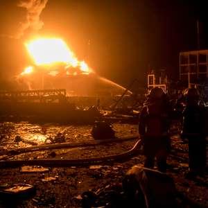 Explosão em fábrica na China mata 47 e fere 640