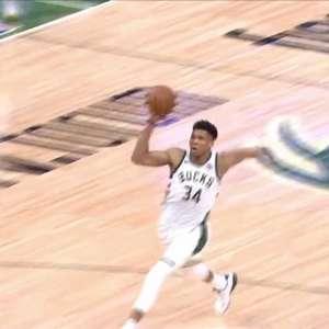 NBA: Destaque do Dia: Giannis detona contra Pistons
