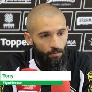 "FIGUEIRENSE: Tony: ""Venho para agregar experiência ao grupo"""