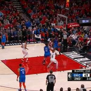 NBA: Lillard e Leonard dão aula na quadra