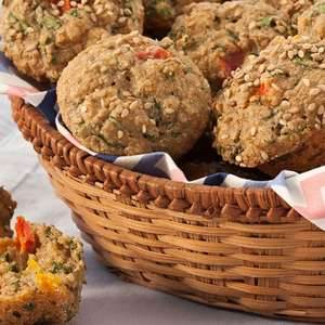 Muffin de Espinafre