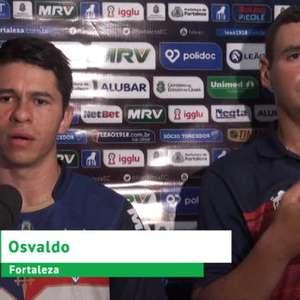 """FORTALEZA: Osvaldo: """"Não vamos mudar nossa forma de jogar"""""""