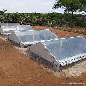 Dessalinizador solar garante água potável no semiárido