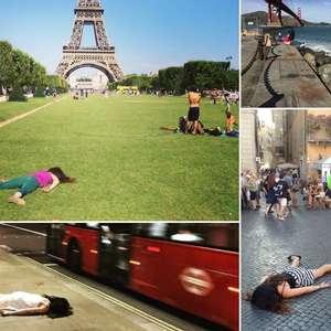 """Viajante posta fotos """"morrendo"""" em pontos turísticos ..."""
