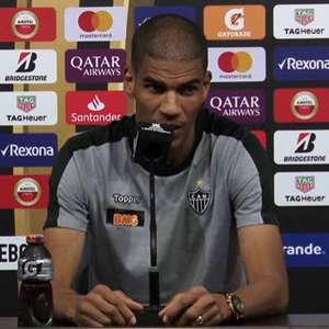 """ATLÉTICO-MG: Léo Silva: """"Nosso sentimento também é de ..."""