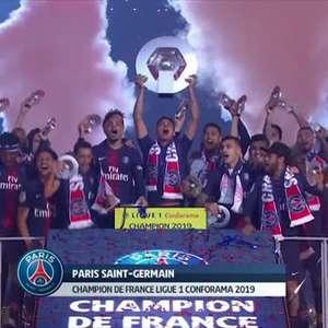 PSG se consagra campeão da Ligue 1