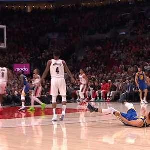 NBA: Confira o sensacional tiro de 3 de Steph Curry