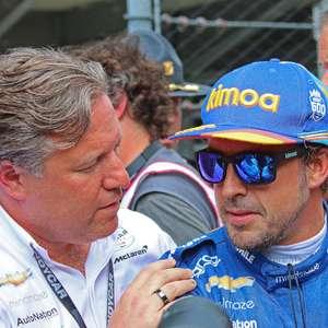 Fernando Alonso fora da Indy 500; espanhol foi eliminado ...