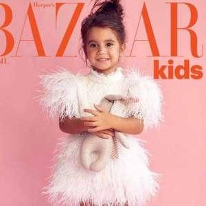 Aos 3 anos, filha de Deborah Secco estampa capa de revista