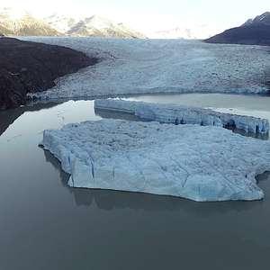 Campo de gelo na Patagônia chilena é rompido por ...