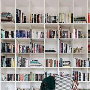 Estante para Livros: Saiba Como Organizar +63 Modelos Lindos