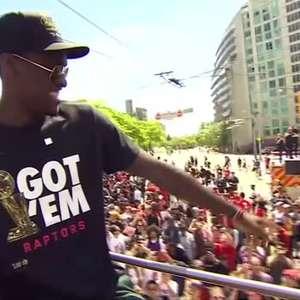 BASQUETE: NBA: Jogadores do Toronto Raptors são ...