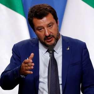 Salvini ameaça renunciar por disputa orçamentária da Itália