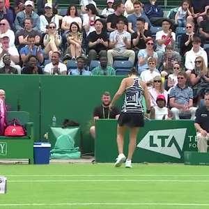 TÊNIS: WTA Birmingham: Barty supera Goerges, conquista ...