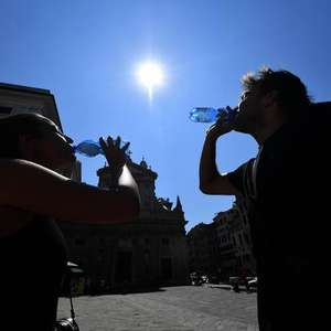 Calor extremo deixa 1 morto na Itália