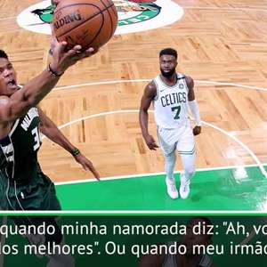 """NBA: Giannis: """"Quero conseguir algo mais do que ser MVP"""""""