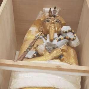 Sarcófago de Tutancâmon será restaurado pela primeira vez