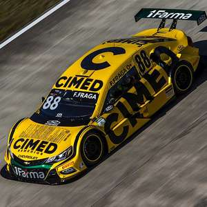 Felipe Fraga larga na terceira fila pela Cimed Racing e ...