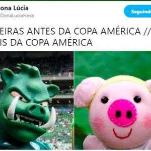 Fim da invencibilidade do Palmeiras inspira memes nas redes