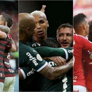 Confira o aproveitamento dos 20 clubes da Série A na ...