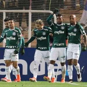 """Borja """"renasce"""" e Palmeiras arranca empate do Godoy Cruz"""