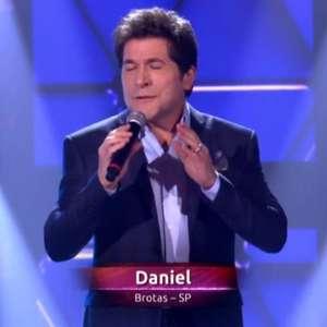 Após Claudinha, Daniel participa do 'The Voice' como cantor