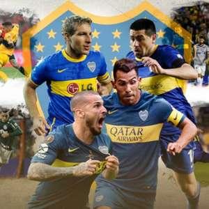 Bicho-papão! Boca tem campanha ótima contra brasileiros ...