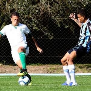 Fora de casa, América-MG bate o Grêmio no Brasileiro sub-20