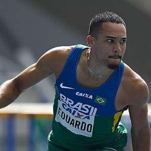 Eduardo de Deus conquista o bronze nos 110m com barreiras