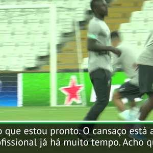 """Supercopa da Uefa: Mané: """"O cansaço está apenas na mente"""""""