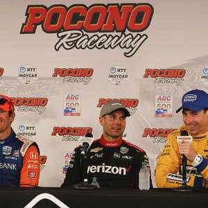 Will Power vence corrida encurtada em Pocono; acidente ...