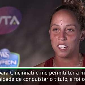 """TÊNIS: WTA Cincinnati: Keys: """"Eu me permiti conquistar o ..."""