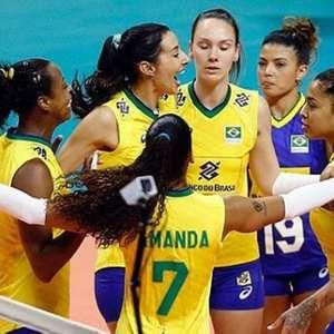 Seleção feminina de vôlei bate Argentina novamente com ...