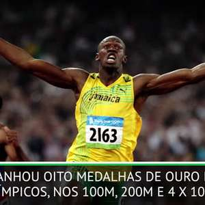 NASCIDO NESTE DIA: Atletismo: Usain Bolt completa 33 anos